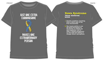 3rd Annual Down Syndrome T-Shirt